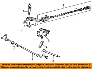 image is loading ford-oem-84-96-f-150-steering-gear-