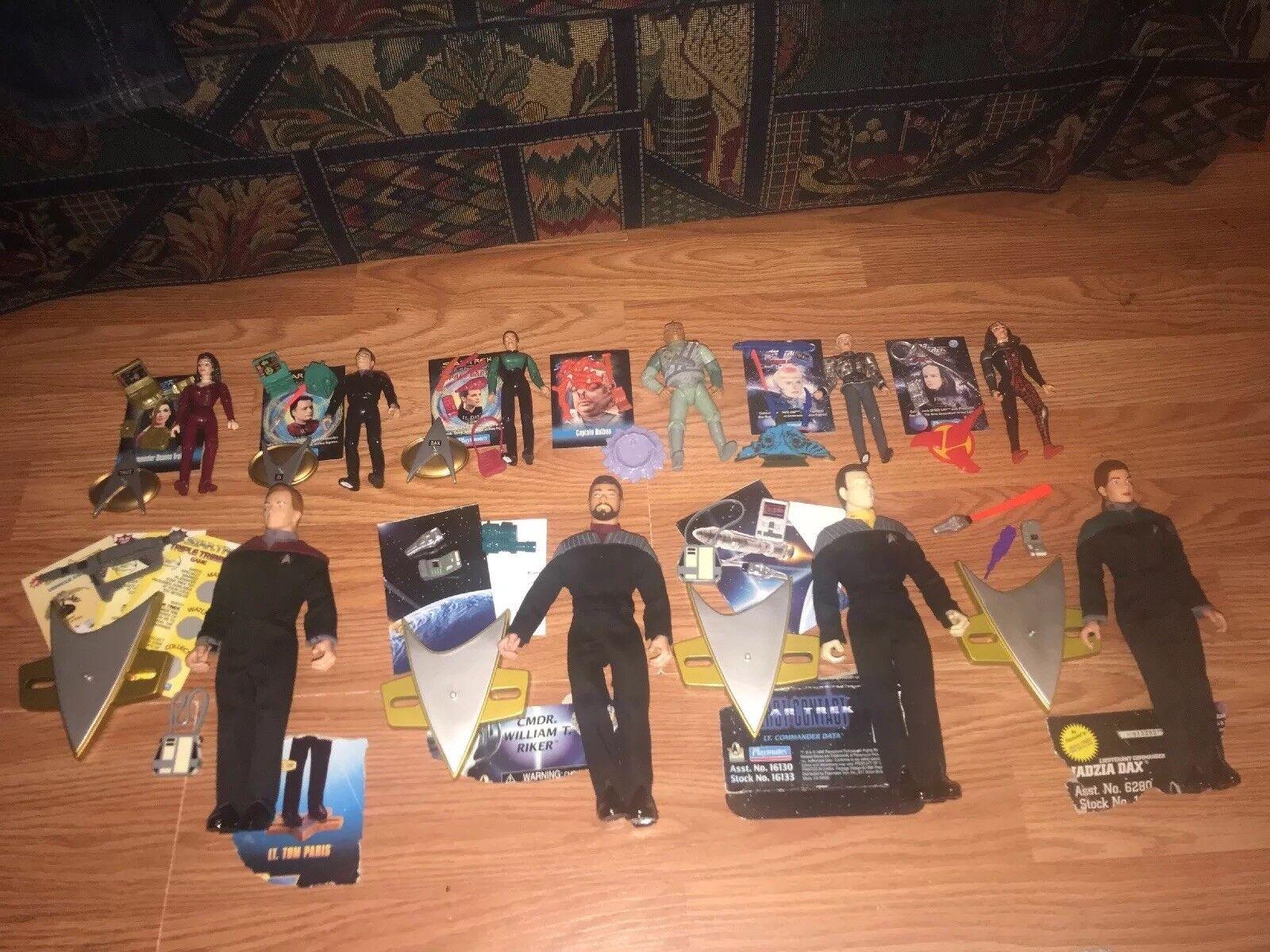 Star Trek  10 Piece Action Figures Lot