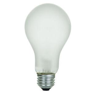 sunlite incandescent 200 watt a21 high wattage 2350 lumens frost light bulb ebay. Black Bedroom Furniture Sets. Home Design Ideas