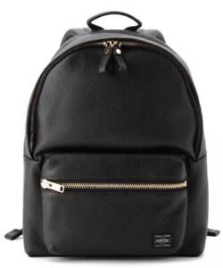 5525 garelly x PORTER Leather Backpack Day bag NEW Rare From JAPAN F ... 2c0f9845a0225