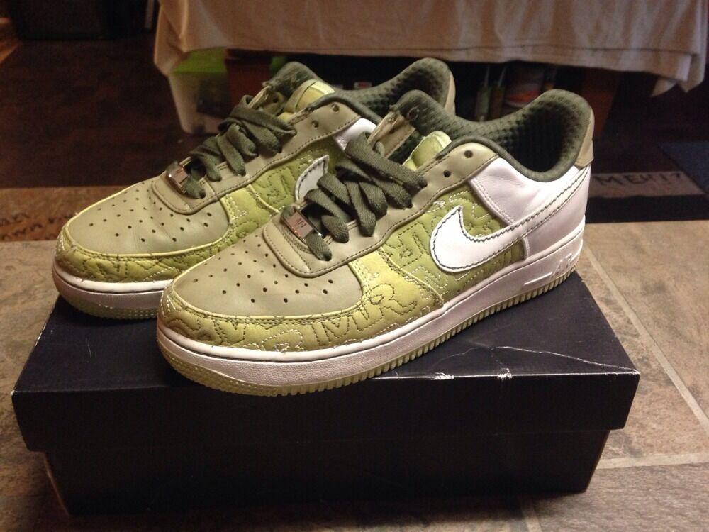 Nike frauen air force 1 premium 07 frauen Nike pistazien / Weiß - neutrel 315186-311 größe 9,5 dccf99