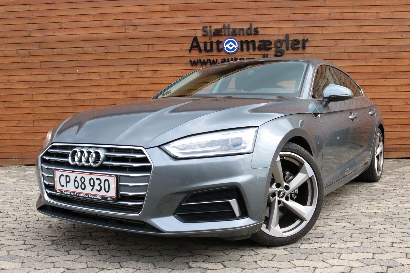 Audi A5 2,0 TFSi 190 Sport SB S-tr. 5d - 400.000 kr.