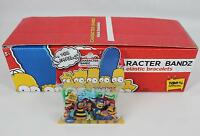 Character Bandz 2010 The Simpsons Series 6, Box Of 12 Packs (20 Pieces Per Pack)