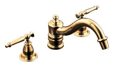 Kohler Antique Deck Mount Tub Faucet Trim K T125 4 Au Ebay
