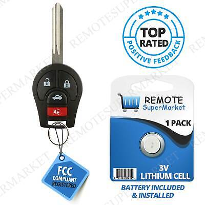 Replacement for 2013 2014 Nissan Sentra Keyless Entry Remote Car Key Fob