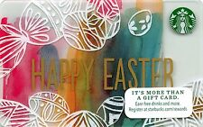 Starbucks Happy Easter Gift Card Collectible New NV - Pin Covered