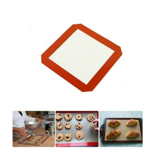 1Pc Silicone Cooking Mat Non Stick Heat Resistant Liner Oven Baking Tray Sheet
