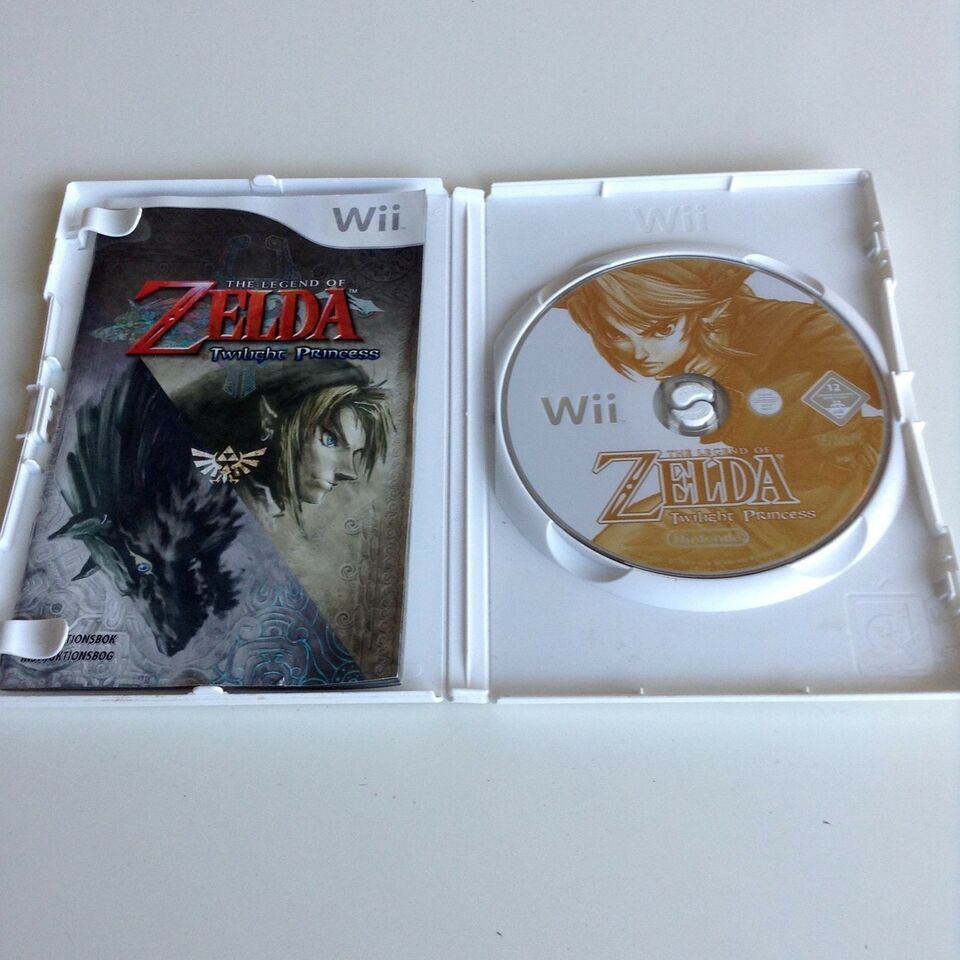 The Legend Of Zelda: Twillight Princess, Nintendo Wii,