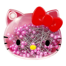 Hello Kitty A Needle Pin Hand Sewing Pins Dressmaking Quilting 130p Pink