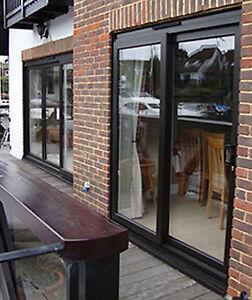 Black upvc sliding patio door 1900mm 1999mm wide for Black upvc patio doors