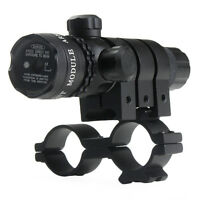 Red Dot Laser Sight With Scope And Rail Mounts.