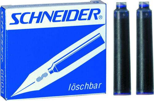 Schreibfarbe: königsblau Standard SCHNEIDER® Tintenpatrone für: Füllhalter