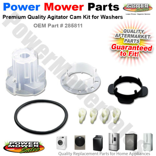 Agitator Cam Kit for Whirlpool Kenmore Sears Maytag Washers 285811 3363663 More
