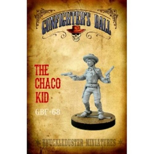 GBF-68 CHACO KID KNUCKLEDUSTER MINIATURES OLD WEST