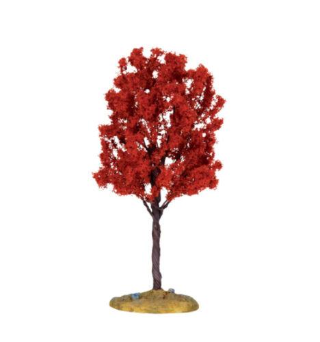 Lemax 140mm Autumn Cypress Tree Fall Model Railways Villages Scenery Wargames