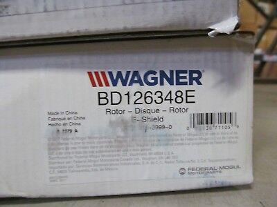 Rear Wagner BD180180E Premium E-Coated Rotor