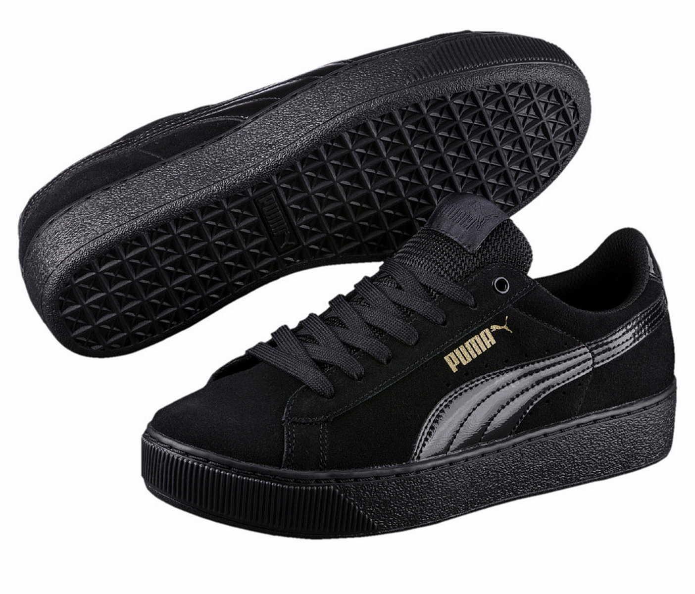 scarpe da ginnastica PUMA 363287 NERO Vikky Platform softfoam Tempo Libero Scarpe Da Ginnastica