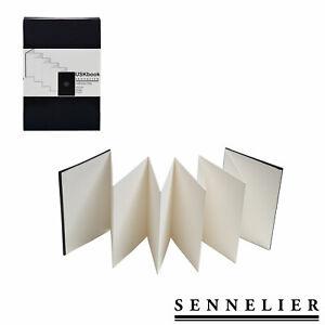Sennelier-Urban-Sketchbook-10-x-15-cm-faltbares-Skizzenbuch-mit-Aquarellpapier