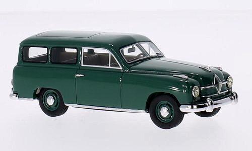 servicio honesto Maravilloso modelCoche modelCoche modelCoche Borgward Hansa 1500 Wagon 1951-darkverde-Escala 1 43  el mas de moda