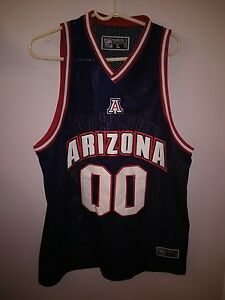 f7dd99130f6d6d Arizona Wildcats Headmaster Campus Wear L RARE sewn  00 basketball ...