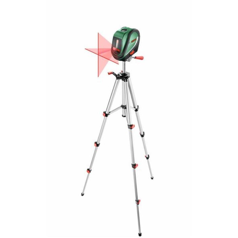 Bosch Kreuzlinien-Laser UniversalLevel 2 mit Aluminiumstativ 1,1 m