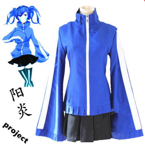 Kagerou Project Mekakucity Actors Enomoto Takane Ene Cosplay Costume Dress