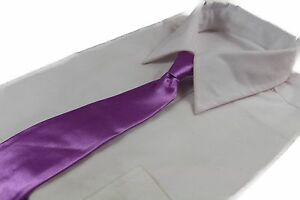 CHEAP-LIGHT-PURPLE-TIE-Boys-Kids-Baby-Toddler-School-Ties-FORMAL-WEDDING-SALE