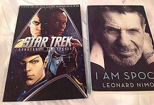 Star Trek Countdown to Darkness & I am Spock Leonard Nimoy BOOK Lot