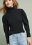 ANTHROPOLOGIE-KNITTED-amp-KNOTTED-BLACK-GRETA-TURTLENECK-SWEATER-PULLOVER-Sz-small thumbnail 1