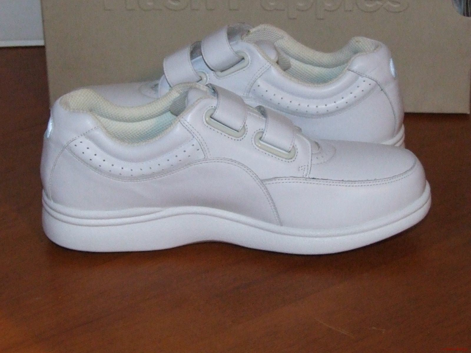 Hush Puppies Power Walker II II II Zapatillas De Cuero Blanco 28b8c2