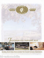 Prospekt brochure Featherlite Vantaré XLII motorcoach motorhome Reisemobil 2001