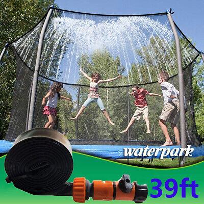 Trampolin Wasserpark Sprinkler Wassersprinkler Kinder Sommer Spielzeug Outdoor