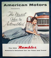 Prospekt brochure 1955 American Motors Rambler (USA)