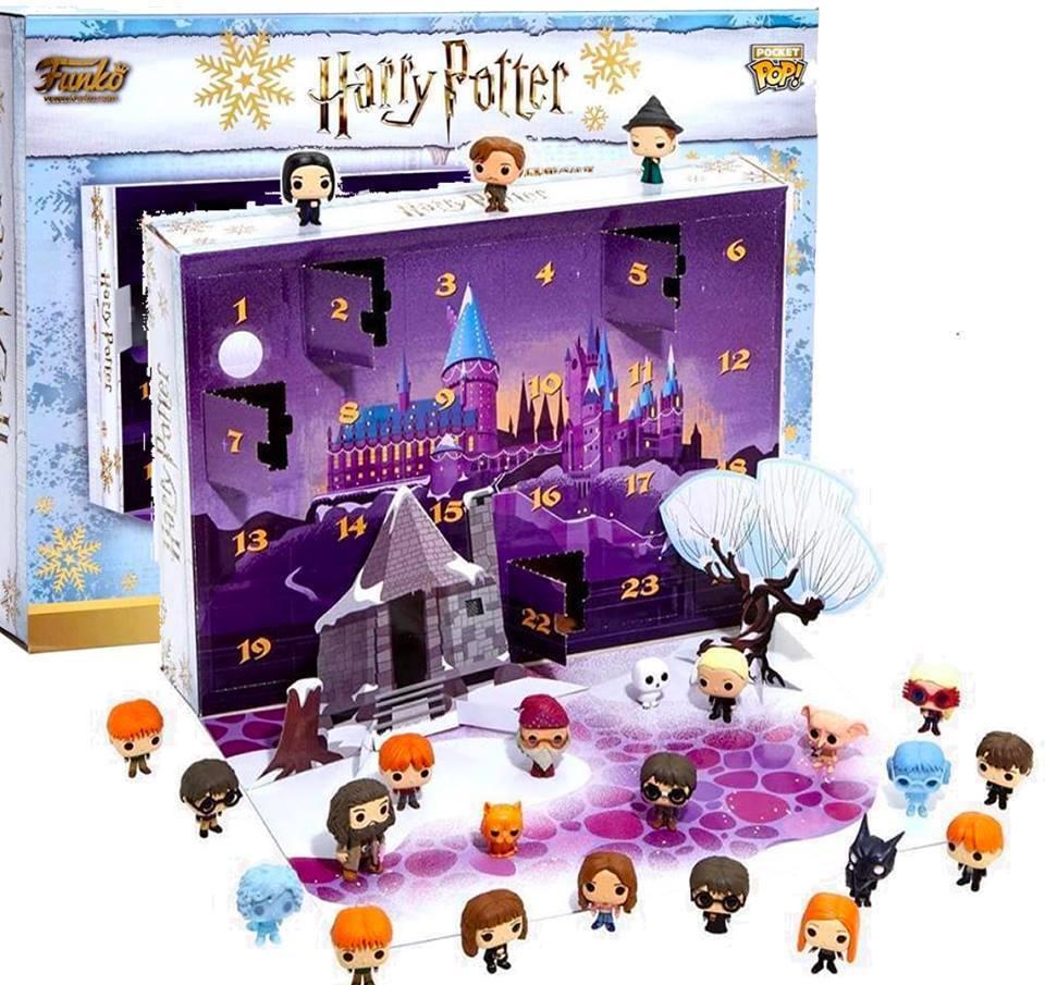 Calendario Adviento Harry Potter Funko Advent calendar en caja precintada 24 fig