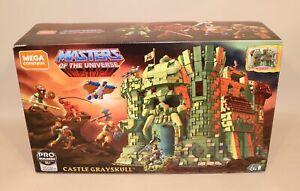 MEGA Construx Masters of the Universe Castle Grayskull Empty Box & Manual ONLY