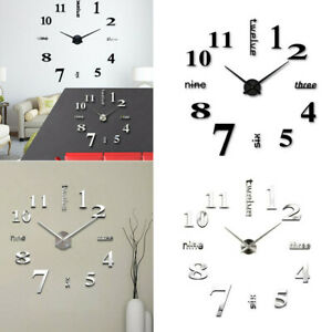 3D-DIY-Large-Frameless-Wall-Clock-Number-Sticker-Modern-Home-Decal-Decor-Fashion