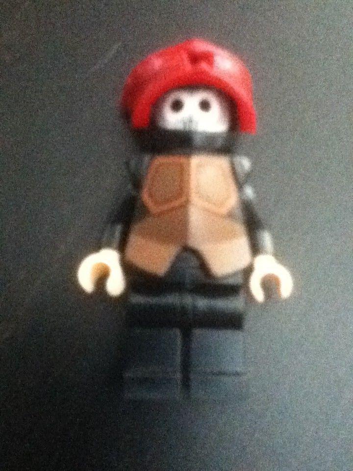 LEGO Avatar - The Last Airbender - Rare Original Firebender Minifig - Excellent