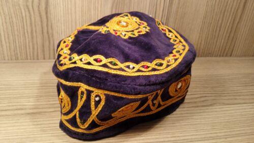 ADULT  FEZ WITH TASSLE TARBOOSH,OTTOMAN HAT 13 COLORS AUTHENTIC TURKISH FES