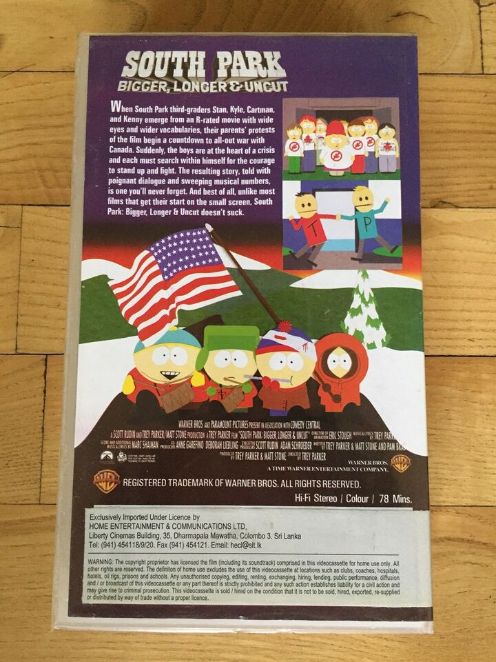 Børnefilm, South Park