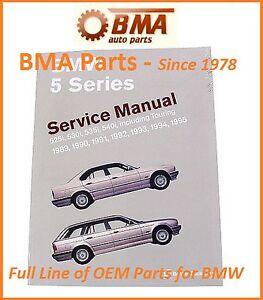 bmw e34 525i touring 530i 535i 540i service repair manual bentley rh ebay com bentley manual e92 bentley manual e30 alignment specifications
