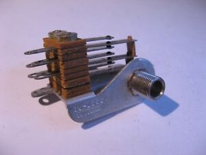 Switchcraft-3J-1338A-1-4-034-Mono-Jack-w-DPDT-Contacts-on-Insert-Used-Qty-1