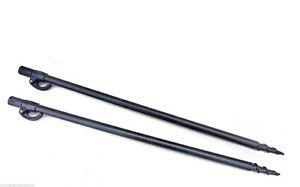 Telescopic 50-80cm Fishing Bankstick Adjustable Extending Holders Rod Rest I6Z5