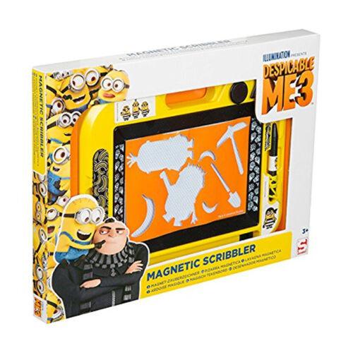 New Despicable Me 3 Medium Magnetic Scribbler Board