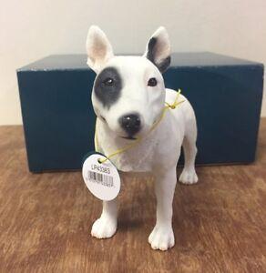English-Bull-Terrier-Statue-by-Leonardo-White-Bull-Terrier-Ornament-Figurine