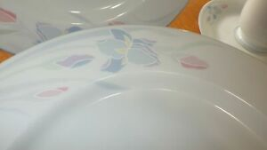 Vintage-China-dinnerware-set-Iris-by-EXCEL-service-for-6-Excellent-Condition-30p