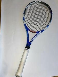 Babolat Pure Drive Cortex System 100 sq in. 10.6oz 4 3/8 grip - Blue and White
