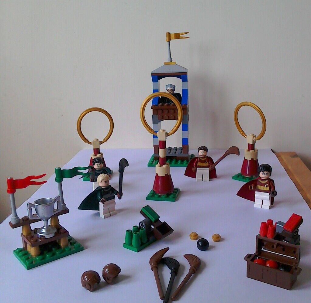 Harry Potter Lego Quidditch Match 4737 Used But Excellent Condition