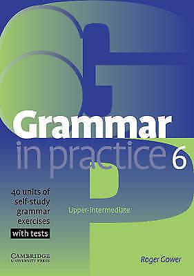 """1 of 1 - """"VERY GOOD"""" Gower, Roger, Grammar in Practice 6, Book"""