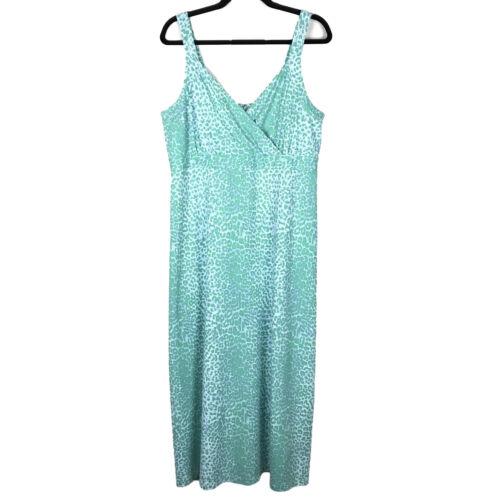 J. McLaughlin Green Catalina Cloth Sleeveless Surp