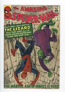 Amazing-Spider-Man-6-Vol-1-Near-Perfect-High-Grade-1st-Appearance-of-the-Lizard